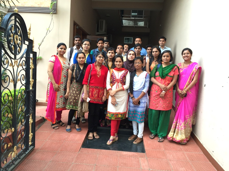 Ardent Knowledge Office Visit by MCA students of St. Aloysius College