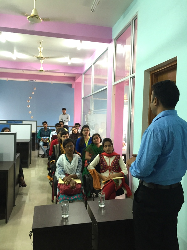Company Briefing Session to students of St. Aloysius College